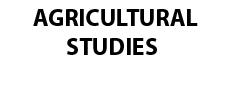 Agricultural Studies